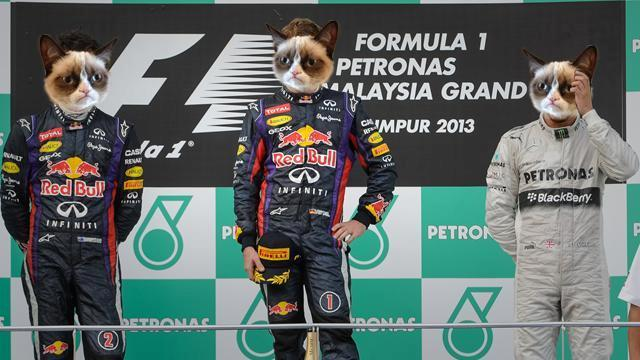 These three just realised Formula One is living in the past